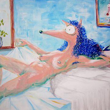 La Maja desnuda..  by radovansensel