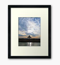 #arrow Framed Print