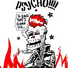 Psychobilly Skull!!! (1) by RFlores