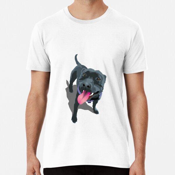 Staffy White Premium T-Shirt