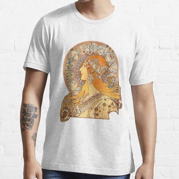 Mucha – Zodiac Essential T-Shirt