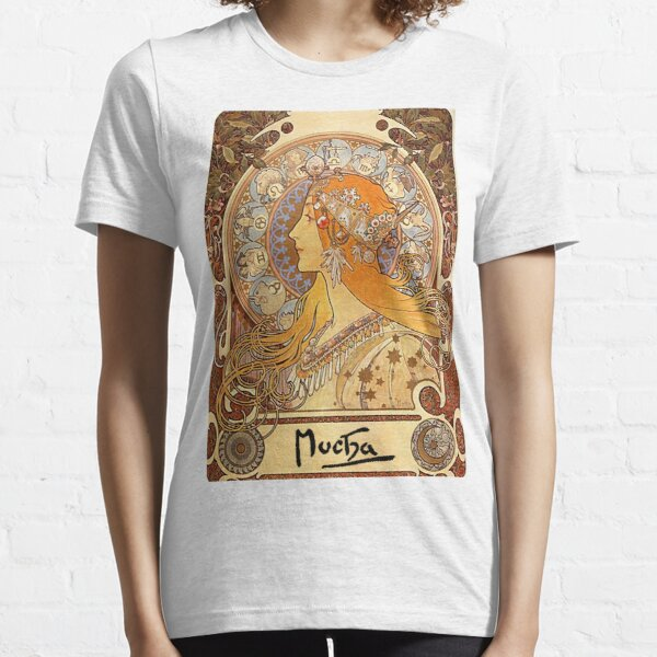 Mucha – Zodiac II Essential T-Shirt