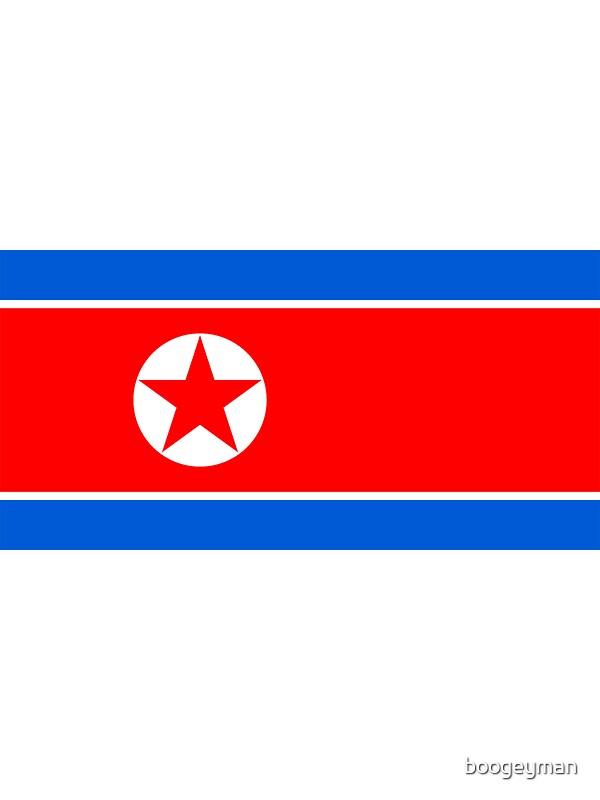 Flag of north korea by boogeyman