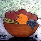 BOWL OF FRUIT by NEIL STUART COFFEY