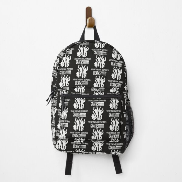 Zombie Vegetarians Grains Funny Zombie Backpack