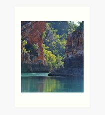 Cyclone Creek, Kimberley Art Print