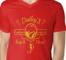 Dudley's Gentlemen's Boxing Club Mens V-Neck T-Shirt