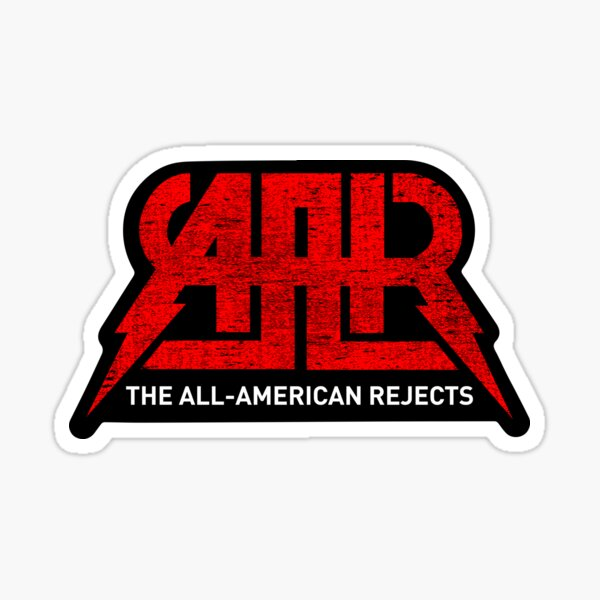 The All American Rejects Stickers | Redbubble