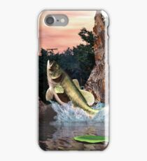 LargeMouth Bass iPhone Case/Skin