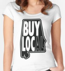 Buy Local Alabama Fitted Scoop T-Shirt