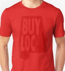 Buy Local Alabama Red Unisex T-Shirt