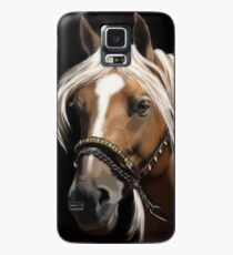 The Palomino - Horse Portrait Painting Case/Skin for Samsung Galaxy