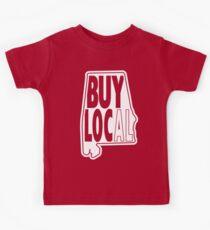 buy local white Kids T-Shirt