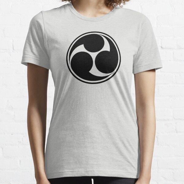 Mitsu Tomoe, Japan, Shinto Trinity Symbol, Triskele Essential T-Shirt