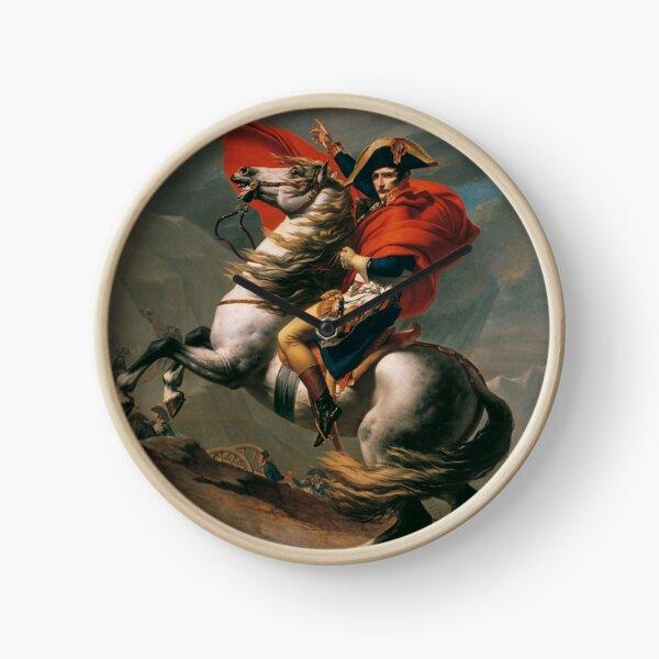 Napoleon Crossing The Alps Clock