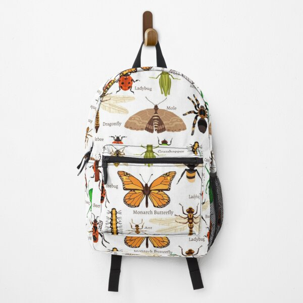 Insects Collection with names! Backpack