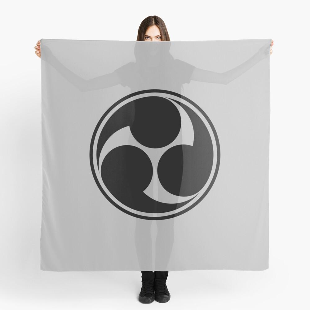 Mitsu Tomoe, Japan, Shinto Trinity Symbol, Triskele Scarf