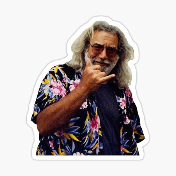 Jerry Garcia Shaka Sticker