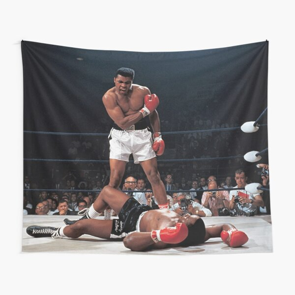 Muhammed Ali Knock Out Tapestry