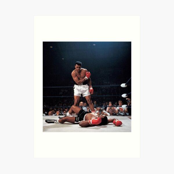 Muhammed Ali Knock Out Art Print