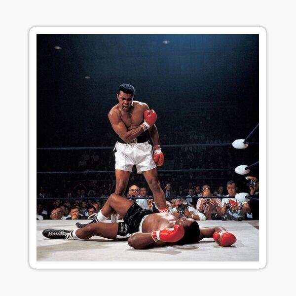Muhammed Ali Knock Out Sticker