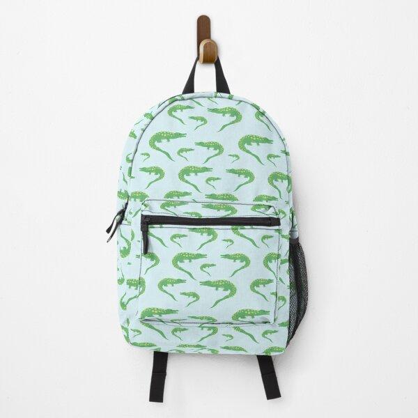 Green Alligator Backpack