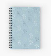 TROYE SIVAN MOSAIC - BLUE Spiral Notebook