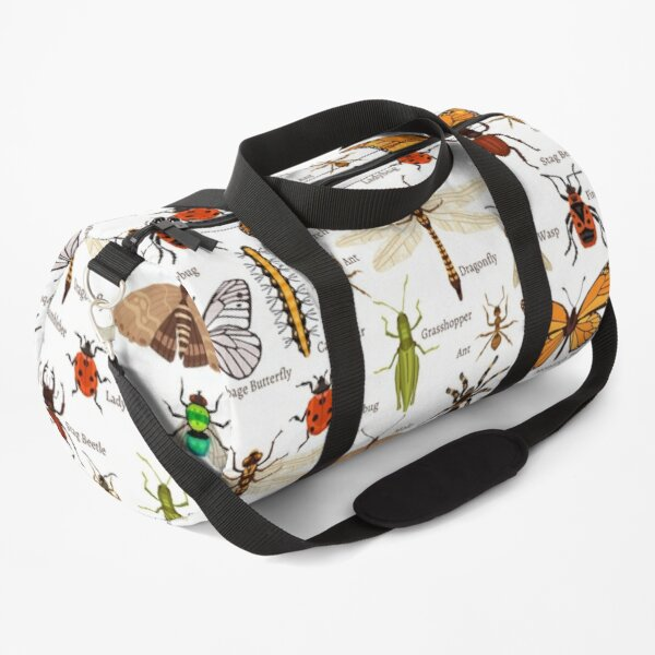 Insects Collection with names! Duffle Bag