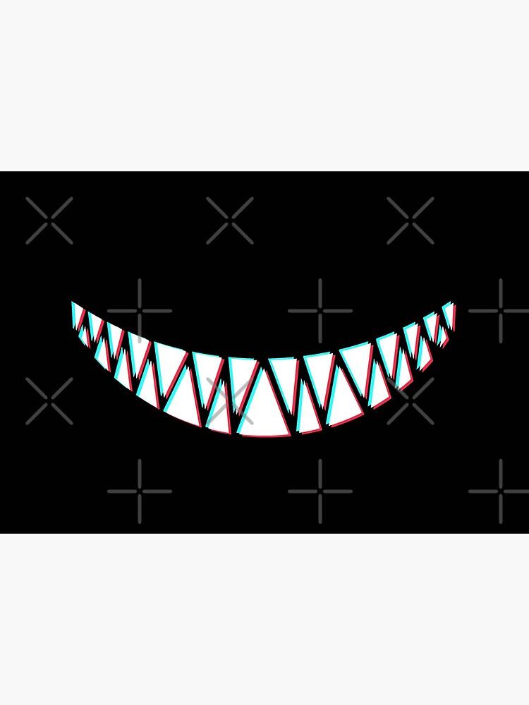Beautiful Smile with Sharp Demon Teeth by SweetLog
