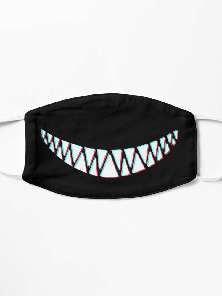 Alternate view of Beautiful Smile with Sharp Demon Teeth Mask