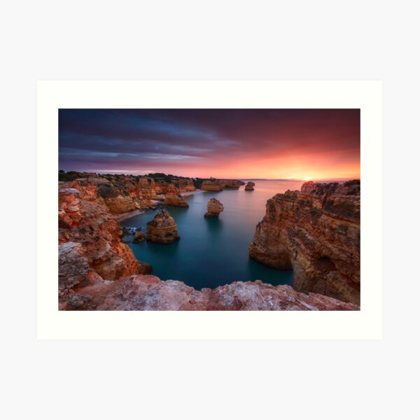 Marinha Sunrise Kunstdruck