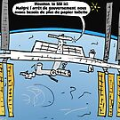 Astronaute du SSI comique by Binary-Options