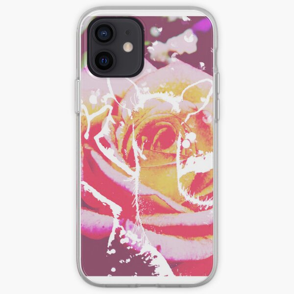 Deer in pink :) iPhone Soft Case