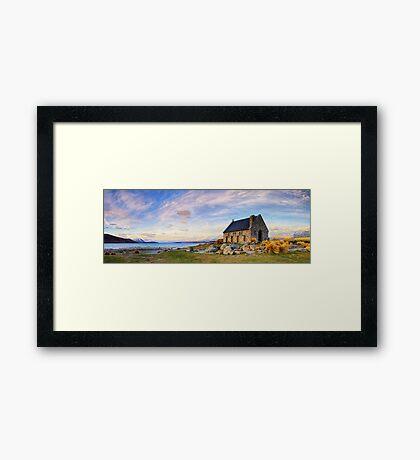 Lake Tekapo - The Good Shepherd Framed Print