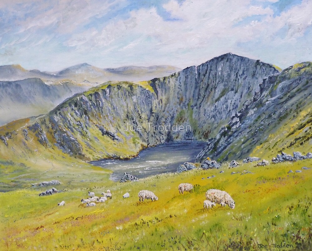 Springtime on Cader Idris. by Joe Trodden