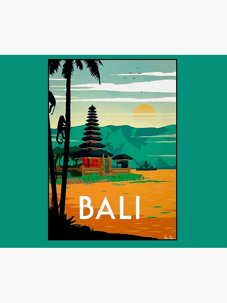 BALI : Vintage Travel and Tourism Advertising Print by posterbobs