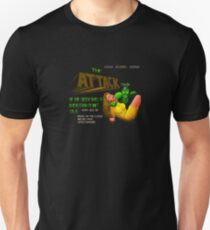Loading Screen: Attack of the Green Smelly Aliens from Planet 27b/6. Unisex T-Shirt