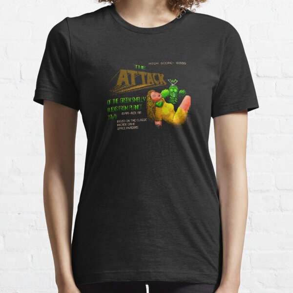 Loading Screen: Attack of the Green Smelly Aliens from Planet 27b/6. Essential T-Shirt
