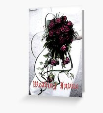 Wedding Invite Greeting Card