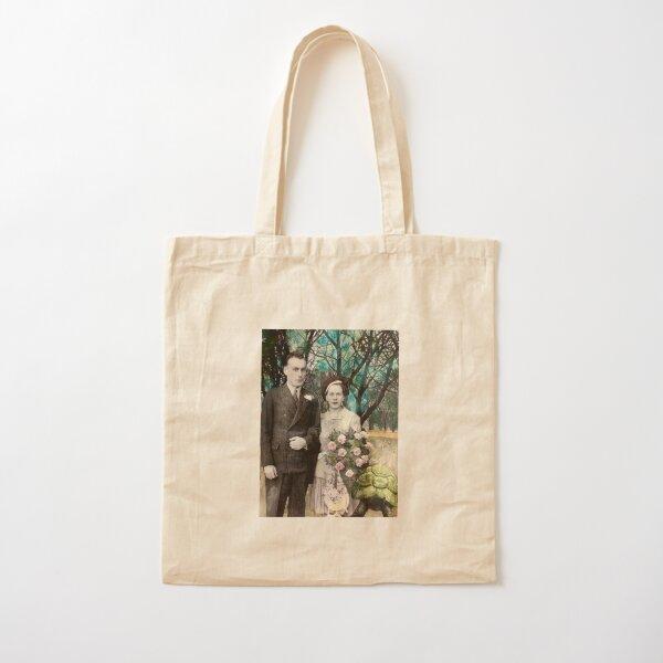 a wedding  Cotton Tote Bag