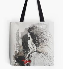 Bleed My Household White Tote Bag