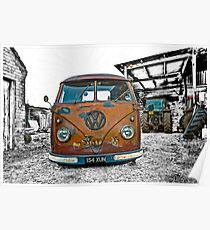 VW Split Screen Poster