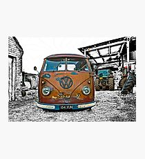 VW Split Screen Photographic Print