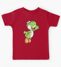 Yoshi in the sky ! Kids Tee