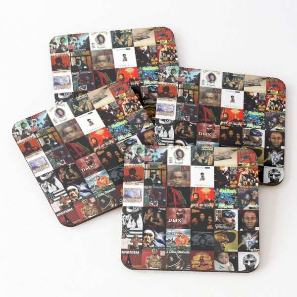 HIP HOP HISTORY Coasters (Set of 4)