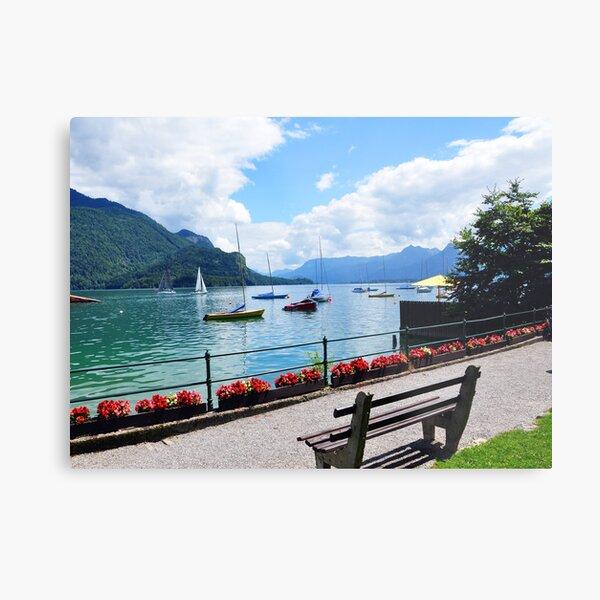 Lake Wolfgang, Austria Metal Print