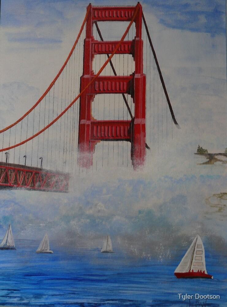 Golden Gate Bridge by Tyler Dootson