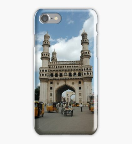 Charminar, Hyderabad, India iPhone Case/Skin