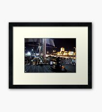 Ships of Light Framed Print