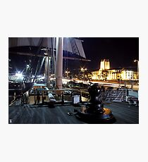 Ships of Light Photographic Print